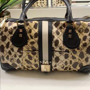 LAMB leopard handbag